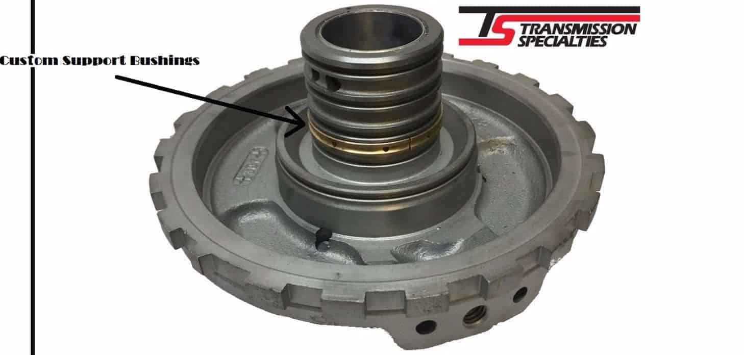 Turbo 400 Bushed Center Support for High HP for Pro Mod Drum